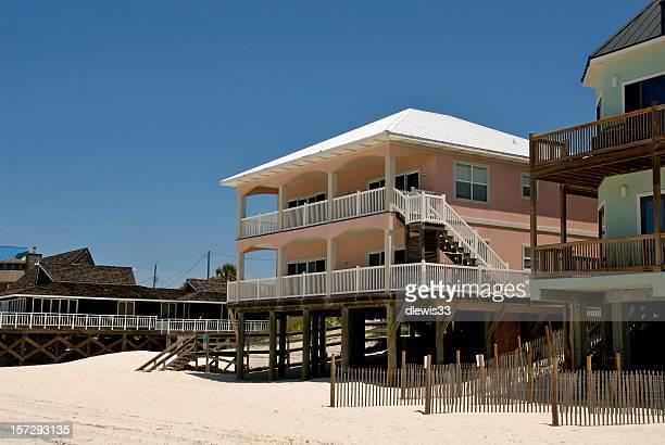rose beach house - gulf coast states photos et images de collection