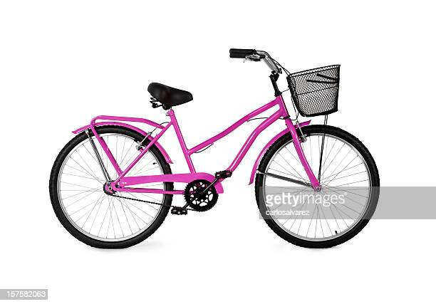 Pink Bicycle / Full Clipping path