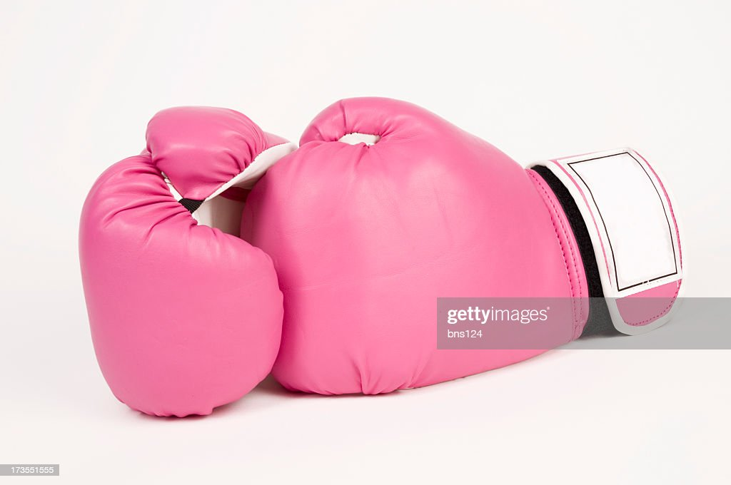 Pink Boxing Gloves : Stock Photo