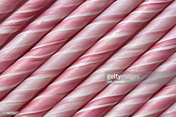 Pink candy canes