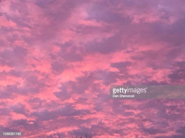 Pink Clouds at Sunrise