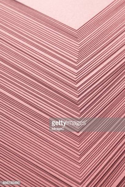 Pink Color Paper Stacking Background