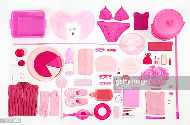 Pink composition