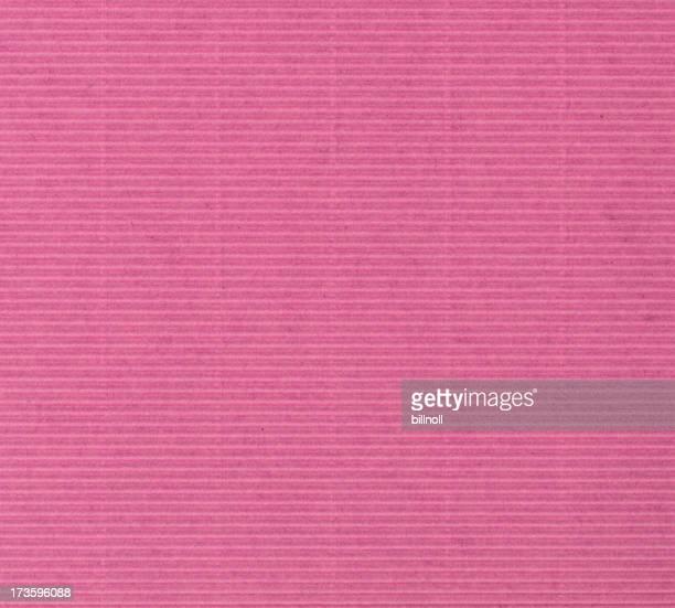 pink corrugated cardboard