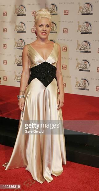 Pink during 2006 TV Week Logie Awards Arrivals at Crown Casino in Melbourne VIC Australia