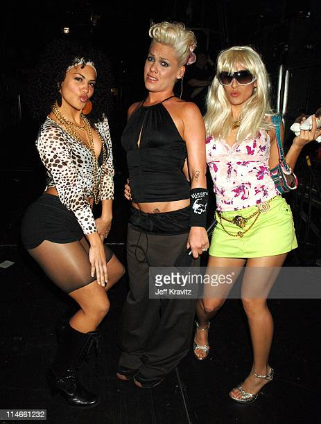 Pink during Nickelodeon's 19th Annual Kids' Choice Awards - Backstage and Audience at Pauley Pavillion in Westwood, California, United States.