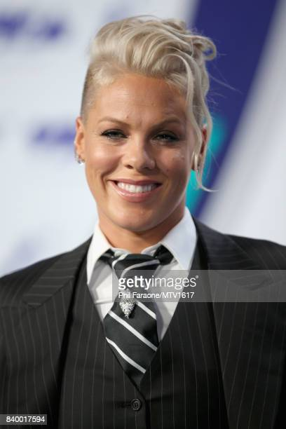 Pink during the 2017 MTV Video Music Awards at The Forum on August 27, 2017 in Inglewood, California.
