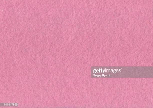 pink felt - felt textile stock pictures, royalty-free photos & images
