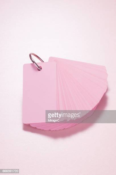 Pink Flash Card