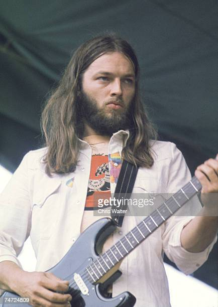 Pink Floyd 1974 David Gilmour at the Music File Photos 1970's in London United Kingdom