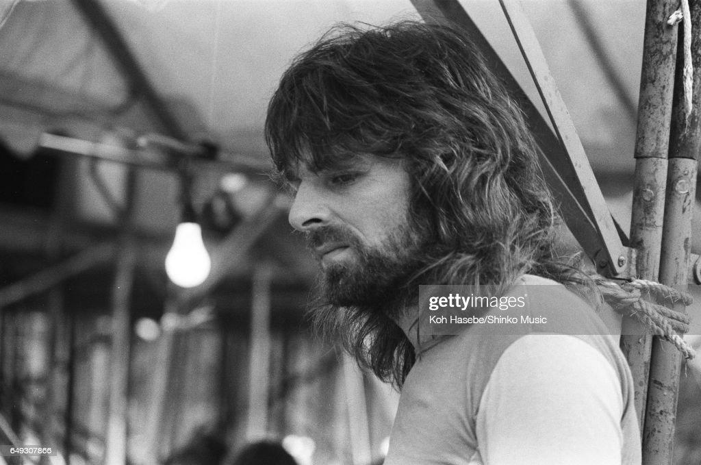 Pink Floyd At The Backstage Of Hakone Aphrodite Concert : Nyhetsfoto