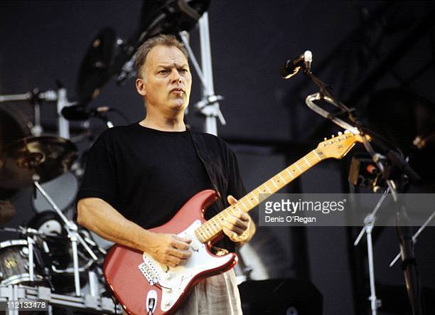 Pink Floyd guitarist and singer Dave Gilmour 1994