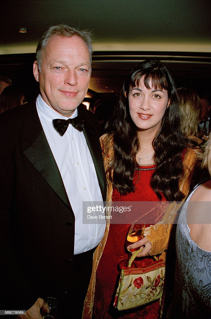 Pink Floyd Guitarist David Gilmour And His Wife English Novelist Polly Samson Attending