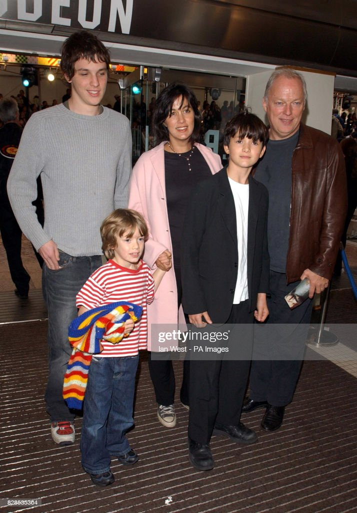 Pink Floyd Guitarist David Gilmour And His Wife Polly Arrive For The Celebrity Film