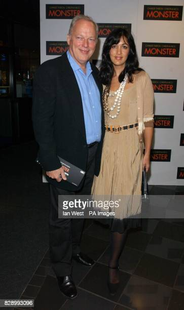 Pink Floyd guitarist David Gilmour and partner Polly Samson arrive for the UK premiere of Monster at the Vue cinema in Leicester Square central...