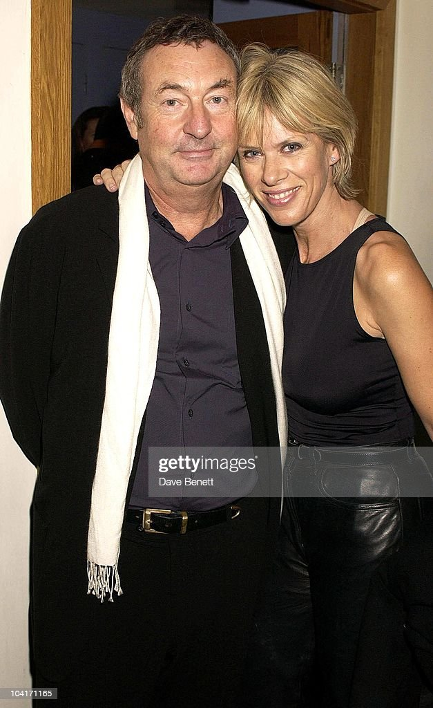 Pink Floyd's Nick Mason And Wife Netty, Special Charity Preview Of Boy George's New Musical 'Taboo' In Aid Of The Mercury Phoenix Trust And The Child Welfare Society. At The Venue In Leicester Square, London And Then The Party At Soho House.