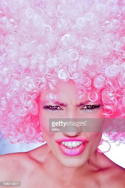 Pink funky girl