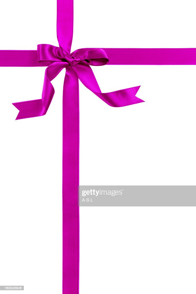 Pink gift bow stock photo getty images pink gift bow stock photo negle Image collections