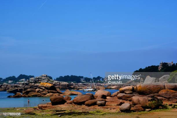 pink granite coast France