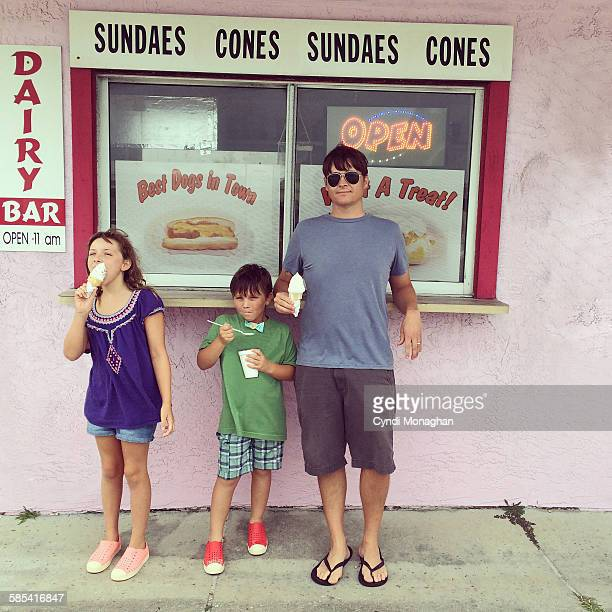 Pink Ice Cream Shop