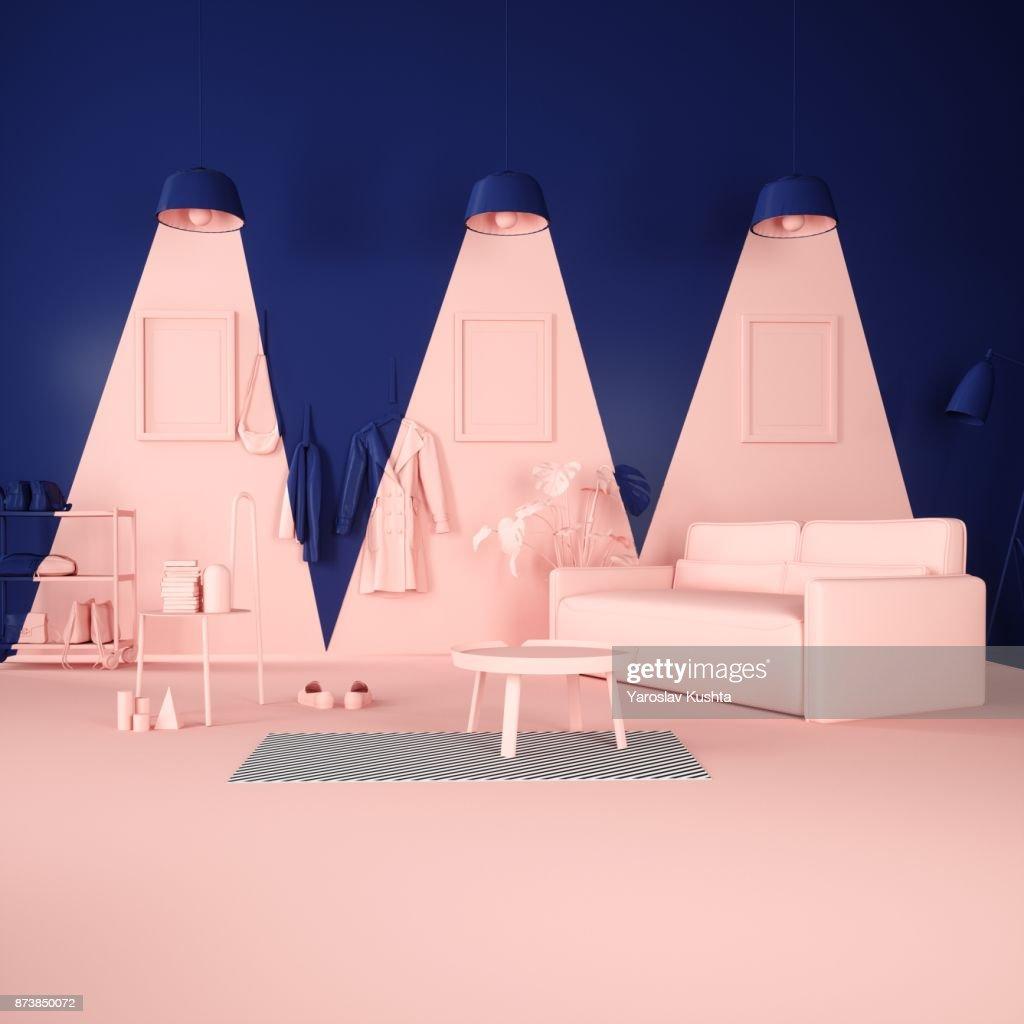 Pink Light : Stock Photo