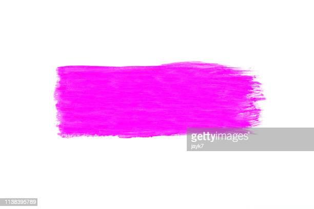 pink paint - form stock-fotos und bilder