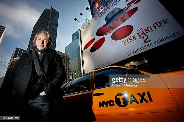 Pink Panther 2 director Harald Zwart photographed in Times Square