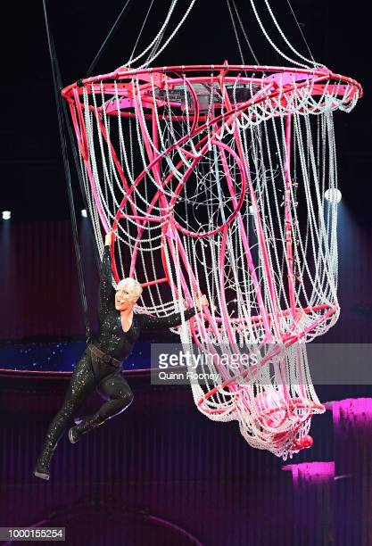Pink performs at Rod Laver Arena on July 16 2018 in Melbourne Australia