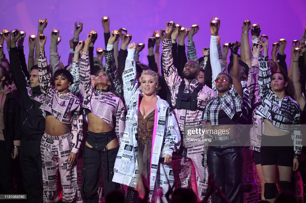 The BRIT Awards 2019 - Show : News Photo