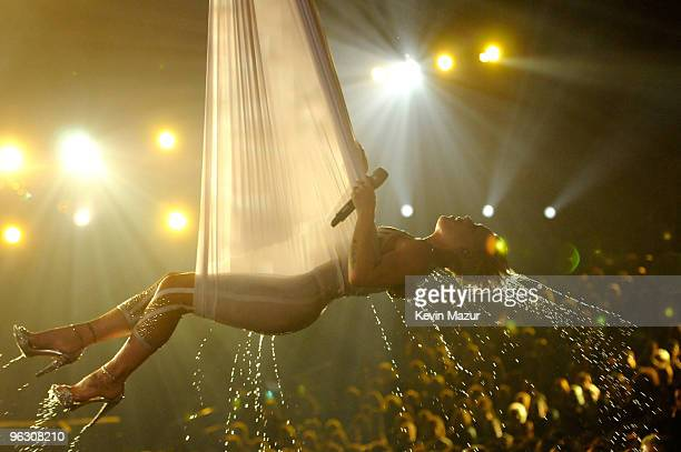 Pink performs onstage at the 52nd Annual GRAMMY Awards held at Staples Center on January 31, 2010 in Los Angeles, California.