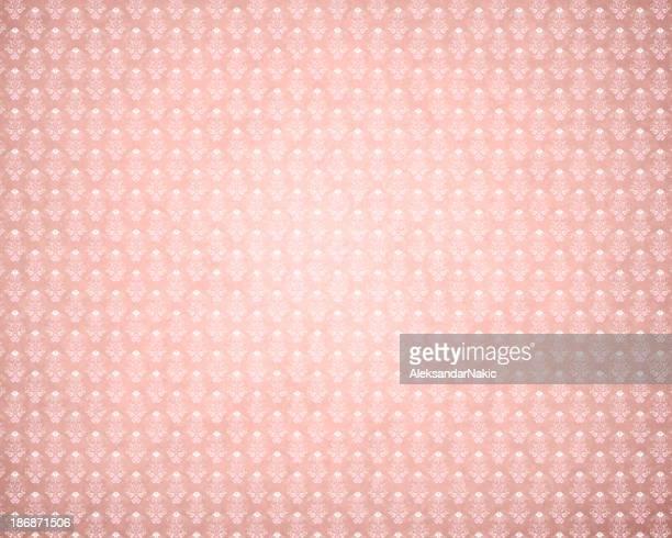 Pink Retro Wallpaper