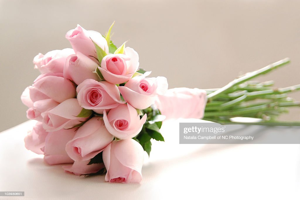 Pink rose bouquet : Stock Photo