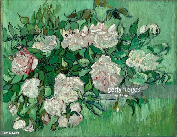 Pink Roses Found in the Collection of Ny Carlsberg Glyptotek