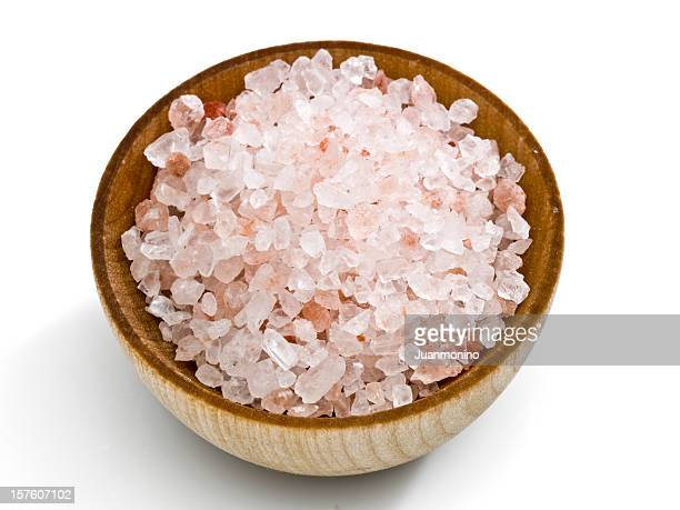 Pink salt from the Himalayas