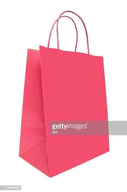 rosa bolsa de compras - bolsa rosa - fotografias e filmes do acervo