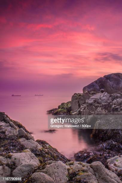 pink silence - dalkey stock pictures, royalty-free photos & images