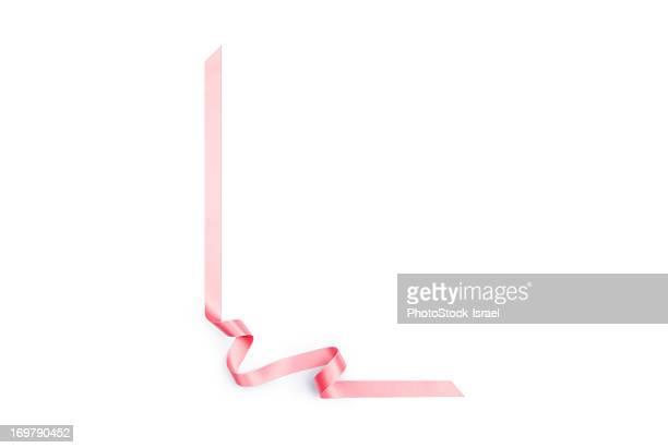 Pink streamer ribbon