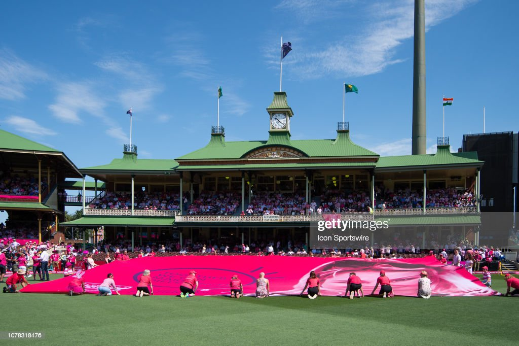 Pink Test Day For The Mcgrath Foundation At The 4th Cricket Test News Photo Getty Images