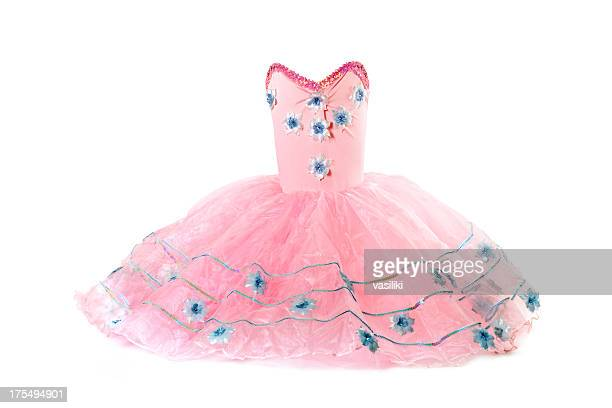 pink tutu costume - cut out dress stock pictures, royalty-free photos & images
