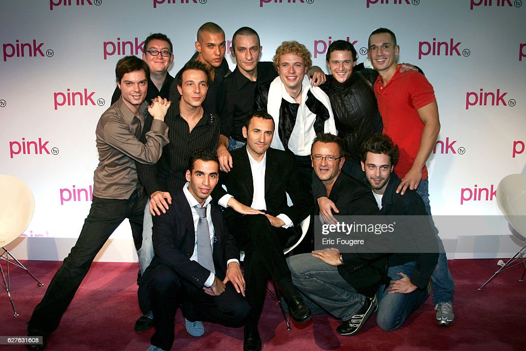 Press Conference of Pink TV, the First French Gay TV Channel : News Photo