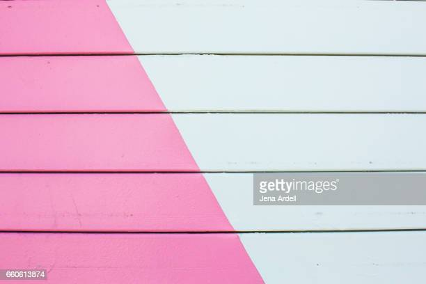 pink wall - mural stock pictures, royalty-free photos & images