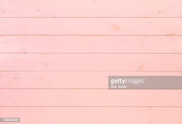 Pink wooden background