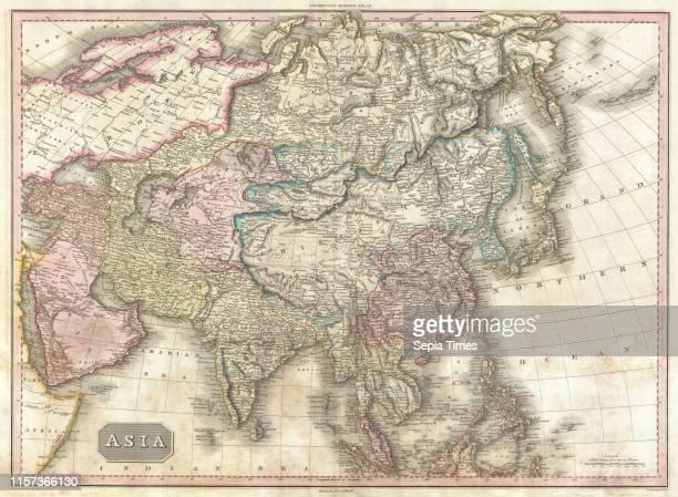 1818 Pinkerton Map of Asia John Pinkerton 1758 Ð 1826 Scottish antiquarian cartographer UK