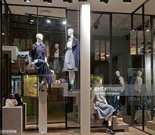 8bbedafed4b Pinko - Paris, window display 2014 as Part of the World Fashion... News  Photo - Getty Images
