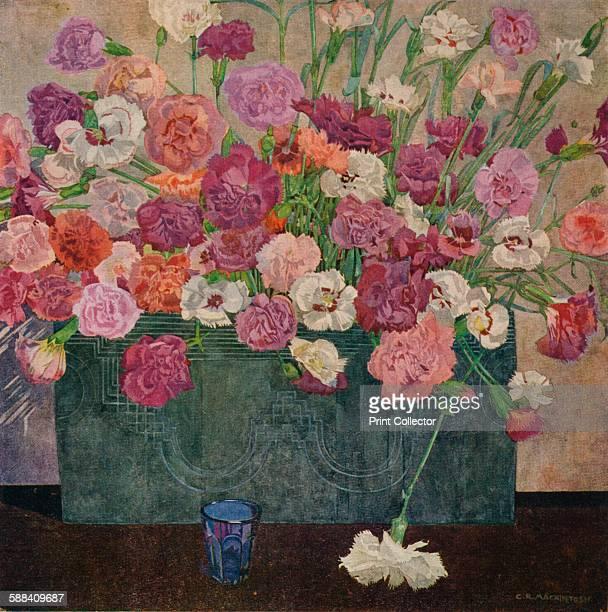 Pinks' circa 1920 From The Studio Volume 86 Artist Charles Rennie Mackintosh