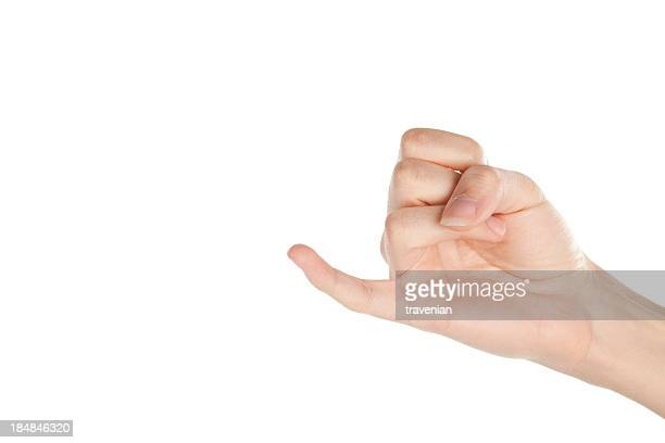 pinky - hand sign stock pictures, royalty-free photos & images