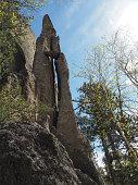 Pinnacle Rock Arch At Cathedral Spires, Black Hills, South Dakota