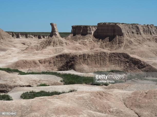 Pinnacle Rock Formation, Castle Trail, Badlands National Park