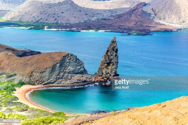pinnacle rock - pinnacle rock formation stock-fotos und bilder