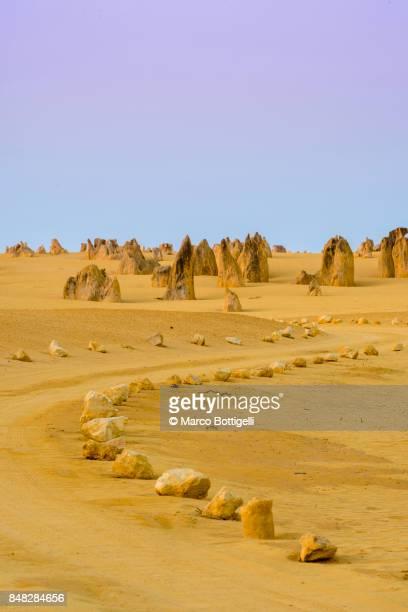 pinnacles desert, western australia. - international landmark stock pictures, royalty-free photos & images